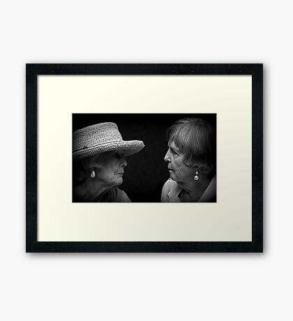 Speaking Volumes Framed Print