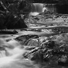 Halls Weir BW by Damon Colbeck