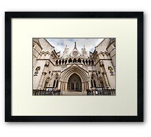 The Royal Courts of Justice Framed Print