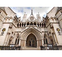 The Royal Courts of Justice Photographic Print