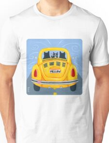 Yellow Road Trip Cats Unisex T-Shirt