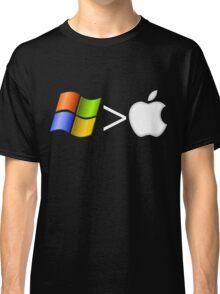 PC greater than Mac Classic T-Shirt