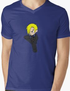 Sanji Mens V-Neck T-Shirt