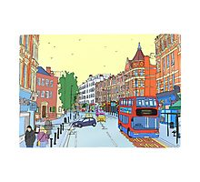 West Hampstead, London, UK Photographic Print