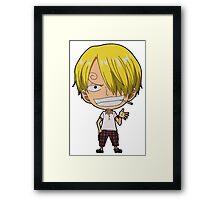 Sanji Framed Print