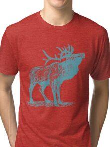 Deer Artwork Tri-blend T-Shirt