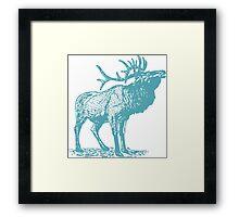 Deer Artwork Framed Print