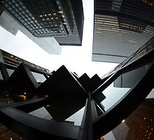 Financial District in Toronto by Wayne  Cook Photography