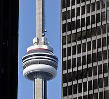 CN Tower Framed by Wayne  Cook Photography