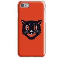 Vintage Black Cat iPhone Case/Skin
