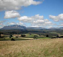 Mount Roland From Wilmot,Northern Tasmania, Australia. by kaysharp