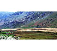 Wales - and the hawthorn was out Photographic Print
