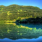 Lungerersee 24 shot HDR Panorama by Luke Griffin