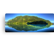 Lungerersee 24 shot HDR Panorama Canvas Print