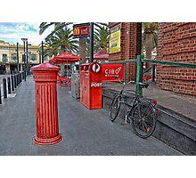 Glenelg Post Office Photographic Print