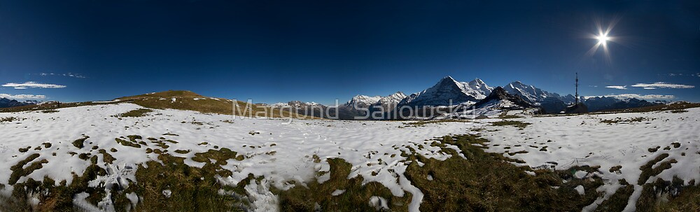 Eiger North face  by Margund  Sallowsky