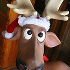 Reindeer Santa by Ingrid Merrett
