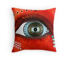 Hypnotic Eye Throw Pillow