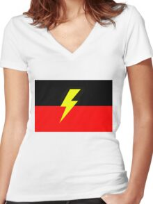 Deadly! Women's Fitted V-Neck T-Shirt
