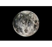 Wolf moon 2 Photographic Print