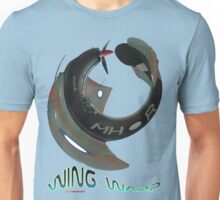 Boomerang Fighter Wing Warp T-shirt Design Unisex T-Shirt