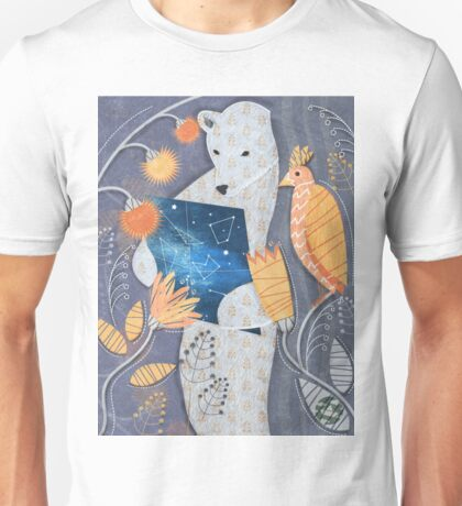 Bear searching exit Unisex T-Shirt