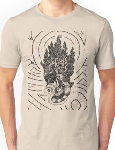 Flying Castle Unisex T-Shirt