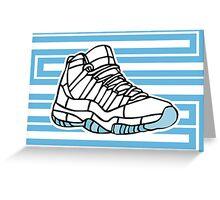 J11-23- Legend Blue Greeting Card