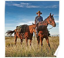 Pic Willetts - Camooweal Drover Poster