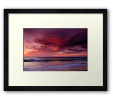 Phoenix Flying Framed Print