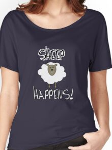 Sheep Happens Women's Relaxed Fit T-Shirt
