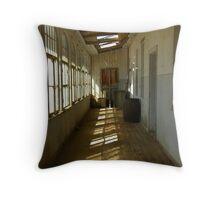 Kolmanskop Balcony Throw Pillow