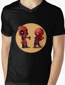 DP S Mens V-Neck T-Shirt