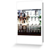 Bar Greeting Card