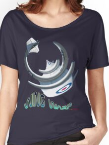 Gloster Meteor F8 Wing Warp T-shirt Design Women's Relaxed Fit T-Shirt