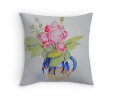 IN THE POT Throw Pillow