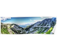 Gotthard Elbows Revisted - The HDR Panorama Poster