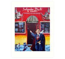 'Salvador Deli' Art Print