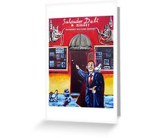 'Salvador Deli' Greeting Card