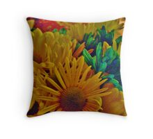 A Lovely Bouquet Of Flowers Throw Pillow