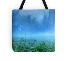 Foggy Evening, Austria Tote Bag