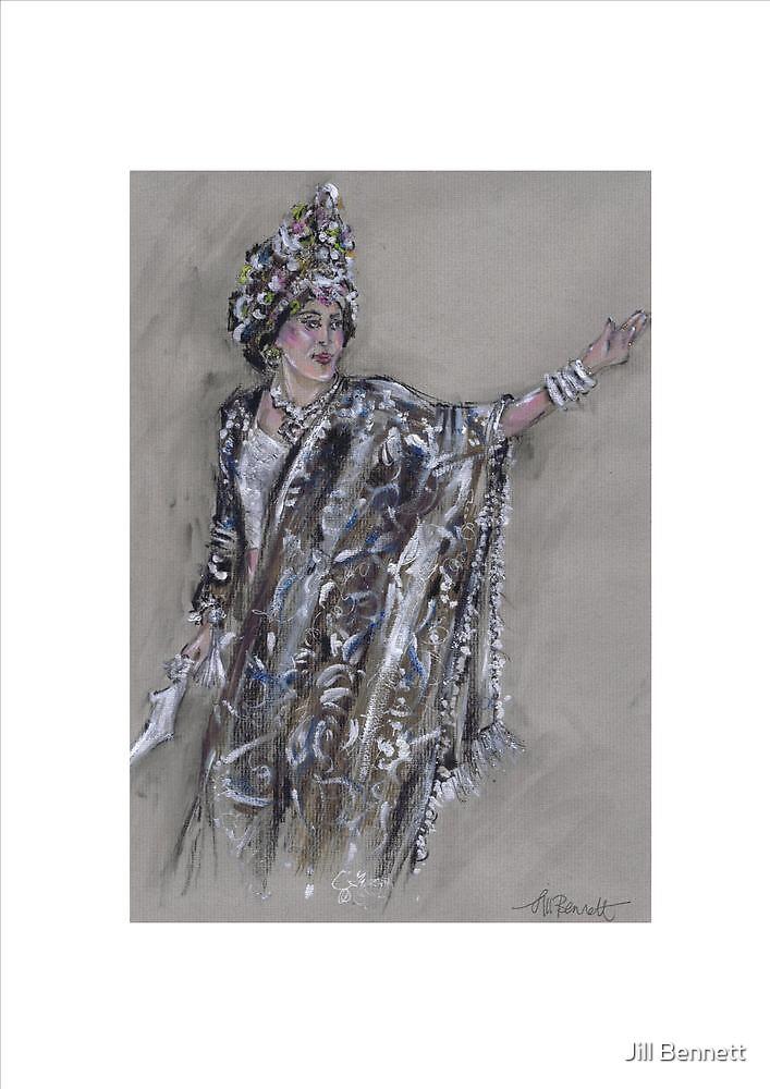 Warrior Queen or Reina Guerrera by Jill Bennett