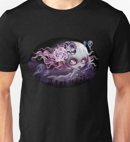 Ghostly Luna Unisex T-Shirt