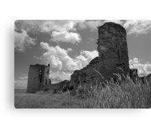 Flint Castle Ruins. N Wales. UK Canvas Print