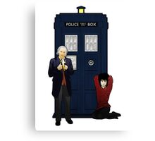 The First Doctor and Susan Canvas Print