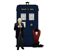 The First Doctor and Susan Photographic Print