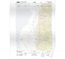 USGS Topo Map California Willow Ranch 20120312 TM Poster