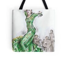 Green Flamenco or Flamenco Verde Tote Bag
