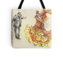 The Pain and the Passion II or La Peña y La Pasion II Tote Bag