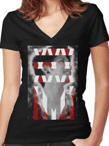 35XXXV - ONE OK ROCK! TAKA!! Women's Fitted V-Neck T-Shirt